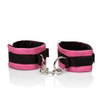 Наручники CalExotics Tickle Me Pink Universal Cuffs